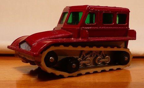 Matchbox #35b - Snow Trac - 1965-70