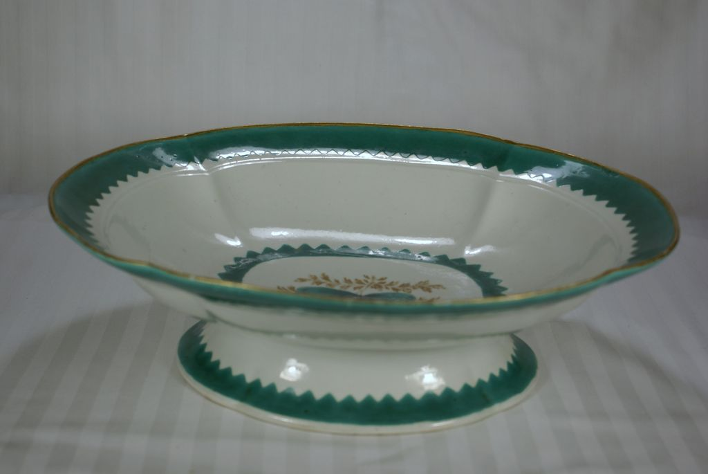 Dr Wall/Davis Period Worcester Porcelain Compote