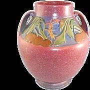 """Roseville Art Pottery Baneda Vase 10.25"""" Art Deco 1931"""