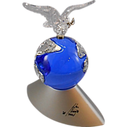 Swarovski Crystal Vision Of Peace Millennium Dove Paperweight