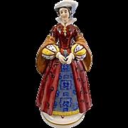 Mary Stuart Queen Of Scots Porcelain Figurine Paris Edme Samson Anchor Mark
