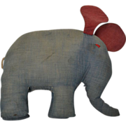 Cloth Toy Elephant, 19th Century
