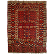 Turkoman Yomud Engsi Rug - c. 20th Century,Turkey