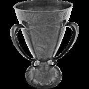 KayserZinn Pewter Loving Cup / Beer Chalice Pattern 4474 Jugendstil Art Nouveau - c. 1900's, Germany