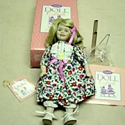 Goebel Bete Ball Collector Club Doll