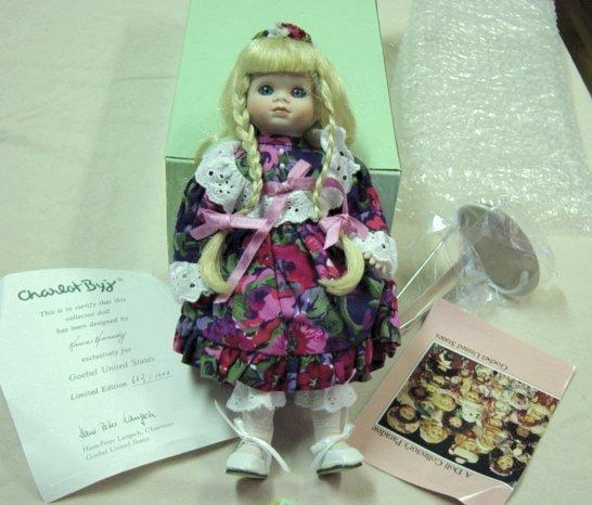 Goebel Charlot Byj Doll By Karen Kennedy