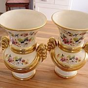 Vintage Bingdon U.S.A. Porcelian Vases