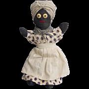 Vintage Hand Sewn Mammy Doll
