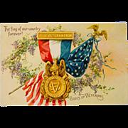 Tuck's Sons of Veterans Postcard