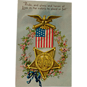 Tuck's Civil War GAR Veteran's Postcard