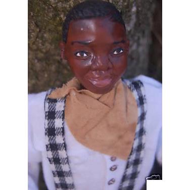 Darling little Black boy -Sculpted OOAK