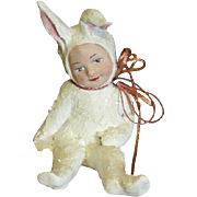 Hand sculpted Bunny Rabbit
