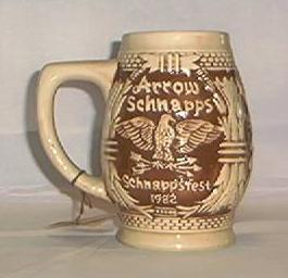 1982 Limited Edition Arrow Schnappsfest Stein