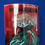 "1995 ""Holiday Barbie"" From Mattel"