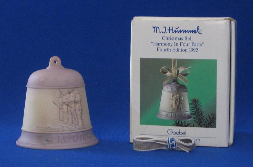 "1992 Hummel Bell Titled, ""Harmony In Four Parts"""