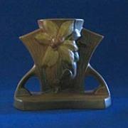 Roseville U.S.A. Clematis 192-5 Vase