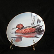 """W. S. George """"Cinnamon Teal"""" Collector Plate"""
