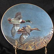"""W. S. George Collector Plate Titled, """"Mallards"""""""