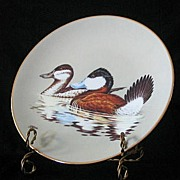 """W. S. George """"The Ruddy Duck"""" Collector Plate"""
