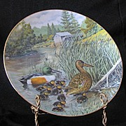 "Knowles Collector Plate Titled, ""The Northern Shoveler"""
