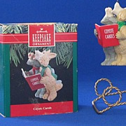 "Hallmark Keepsake Ornament Titled ""Coyote Carols"""