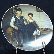 "Knowles Plate ""The Lighthouse Keeper's Daughter"""