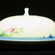 Noritake China Covered Butter Dish
