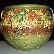 Roseville Pottery 623-10 Blackberry Jardiniere