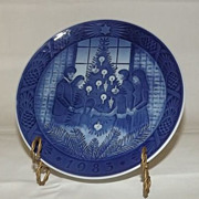 Royal Copenhagen Annual Christmas Plate From 1983