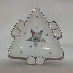 Lefton China Eastern Star Ashtray