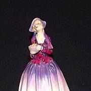 "Royal Doulton Figurine HN 1558 Titled ""Dorcas"""