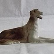 Royal Dux Russian Wolfhound Figurine