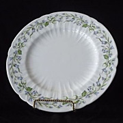 "Shelley ""Harebell"" Dinner Plate In The Oleander Shape"