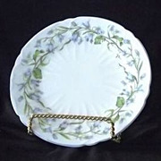 Shelley Harebell Oleander Shape Bread And Butter Plates