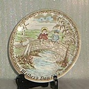 Alfred Meakin 1974 Limited Edition Mother's Day Plate