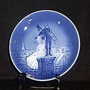 "1974 Plate ""The Shepherdess And The Chimney Sweep"""