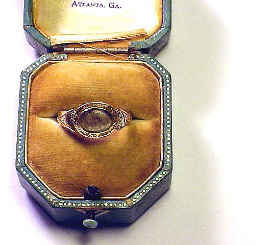 SUBSTANTIAL Pre-Georgian 22k Posy Ring w/Late Georgian Conversion, c.1690!