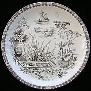 Aesthetic Era Cookie Plate ~ CAIRO 1883