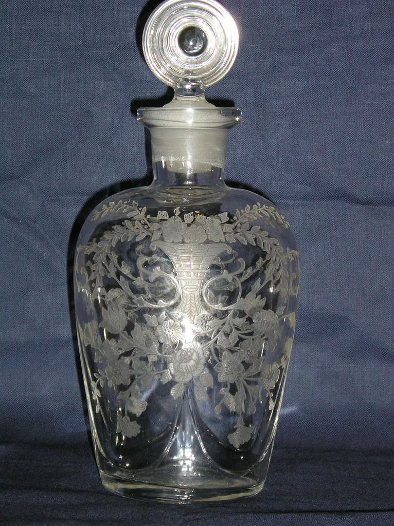 Cambridge Bar Flask with Portia Etch