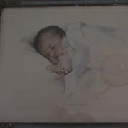 """Bessie Pease Gutmann """"A Little Bit Of Heaven"""", Framed Lithograph"""
