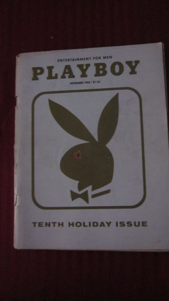 Playboy Magazine, December 1963, Tenth Holiday Issue