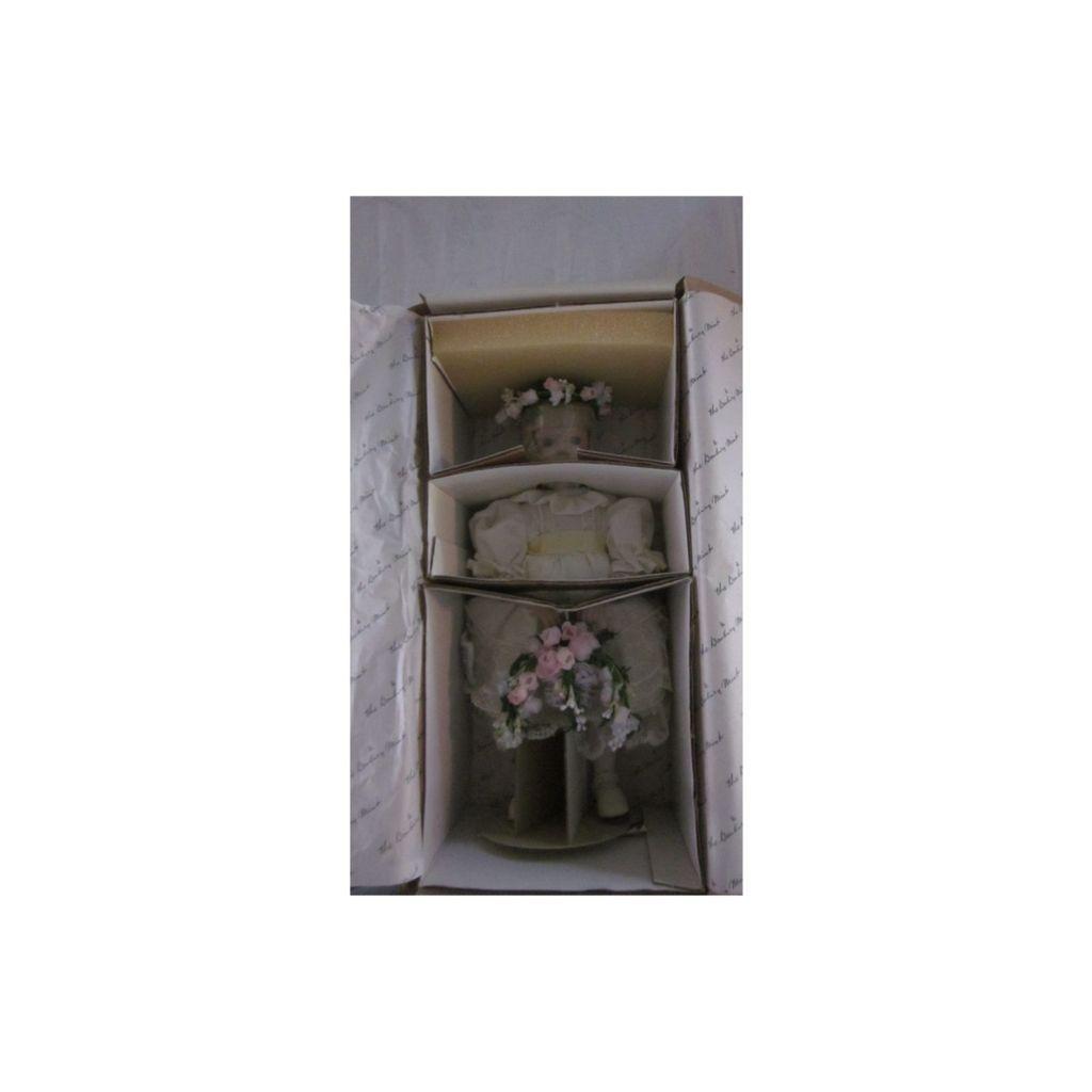 Danbury Mint Princess Diana's Flower Girl Porcelain Doll, NRFB