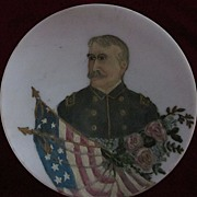 19th Century Naval Officer Commemorative Plate