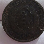 US Two Cent Copper Coin 1864
