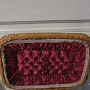 Victorian Wicker Sewing Chest