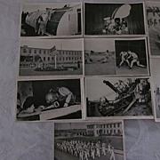 US Navy Seabees Postcards, Camp Endicott, Set of 9