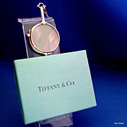 Tiffany & Co. lorgnette opera glasses in sterling