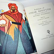 Book - 1965 Collins Ed. Fitzgerald - Rubaiyat Omar Khayyam – Sherriffs Illus.
