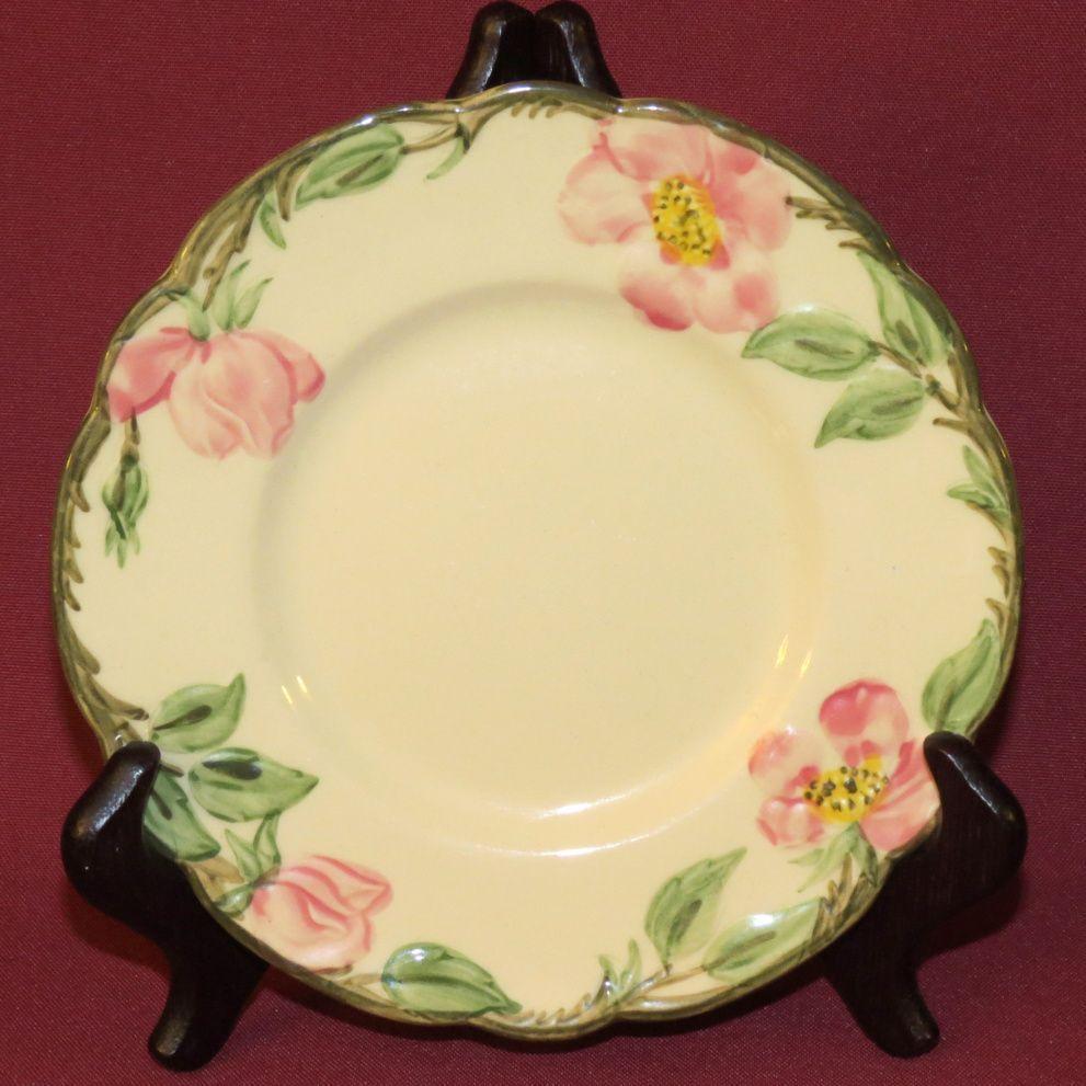Franciscan Desert Rose Bread Plate 1939-47