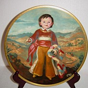 "Pickard""s Children of Mexico 'Miguel' Limited Edition Collector Plate"